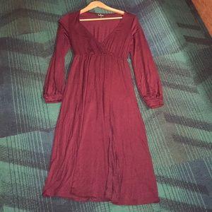 Lulus Long Sleeve Dress Size Small